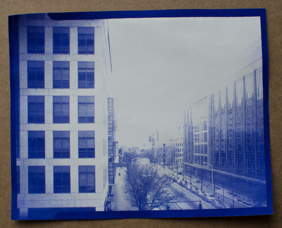Mark fickett art stuff diazo photography main street kendall square diazo paper 4x5 exposure malvernweather Images
