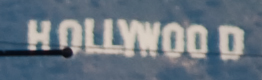 unscaled crop of Hollywood sign