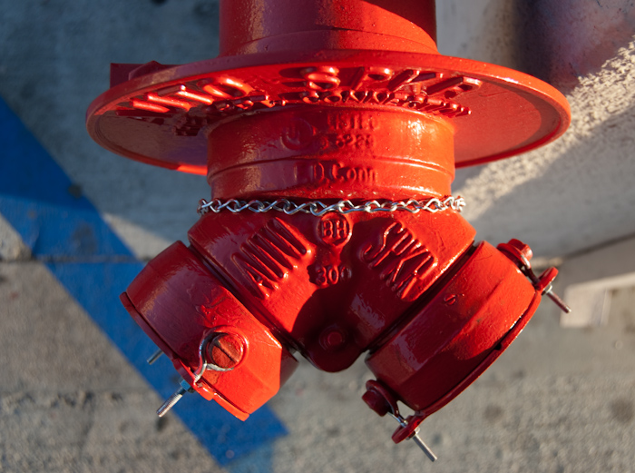 fire department sprinkler attachment