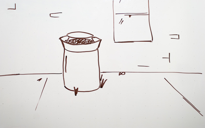 first frame of whiteboard animation