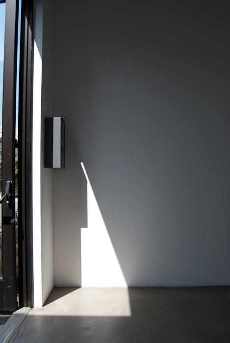 sunlight entering through doorway