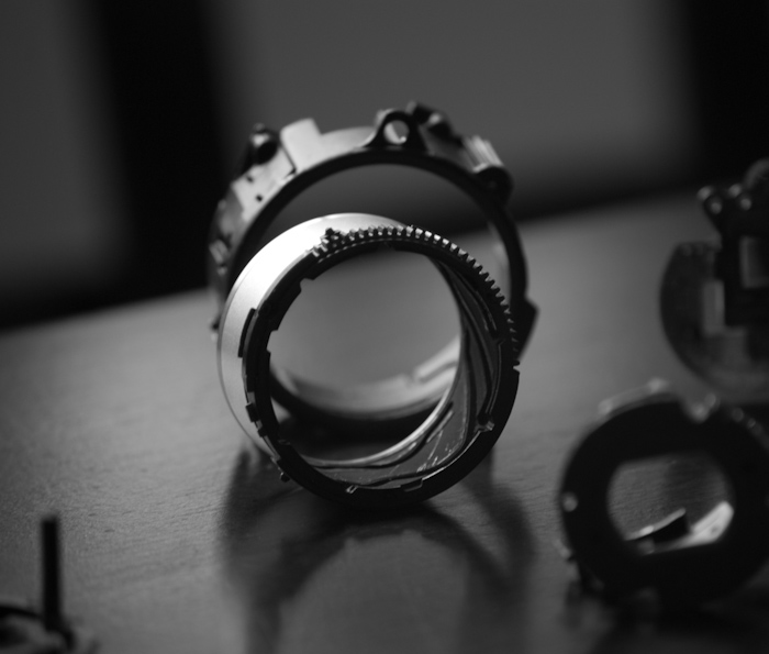 camera lens carriage parts