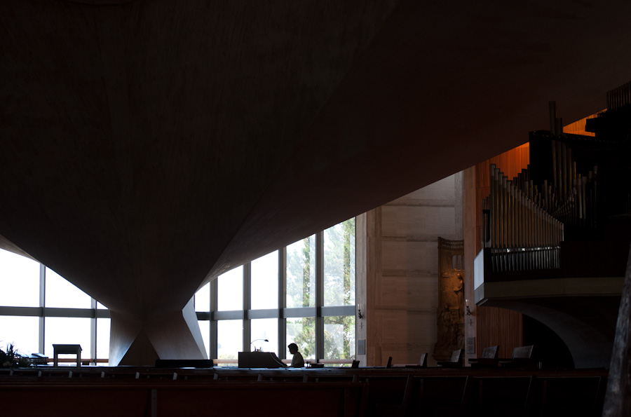 organist silhouette