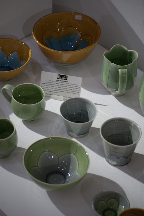 sectioned pottery by Jeff Campana