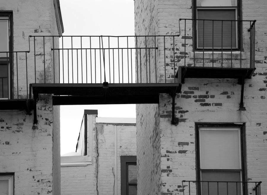 gap between apartments