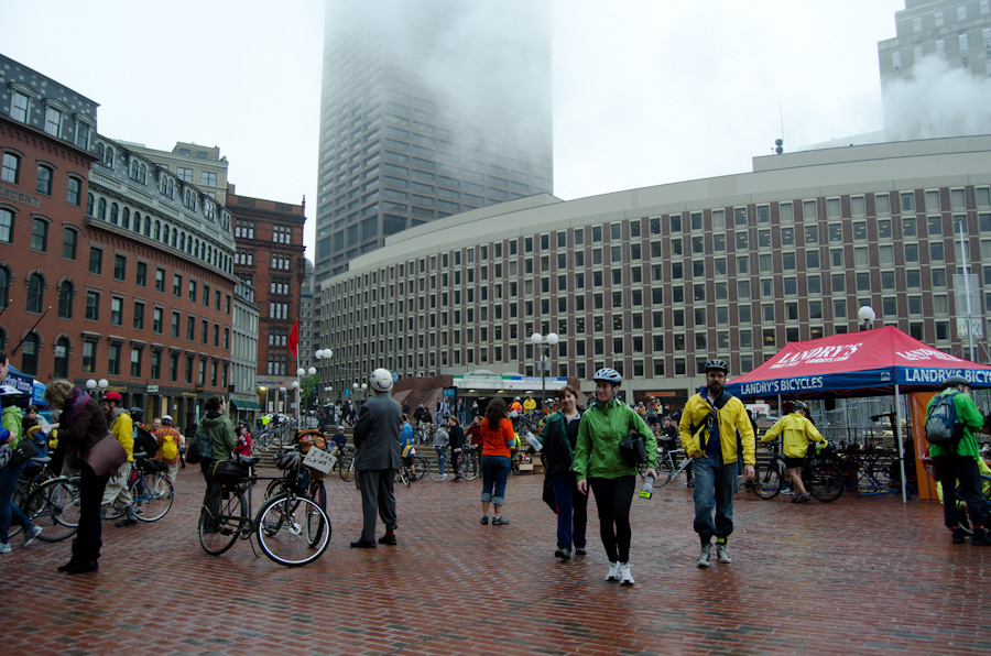 government center bicycling event