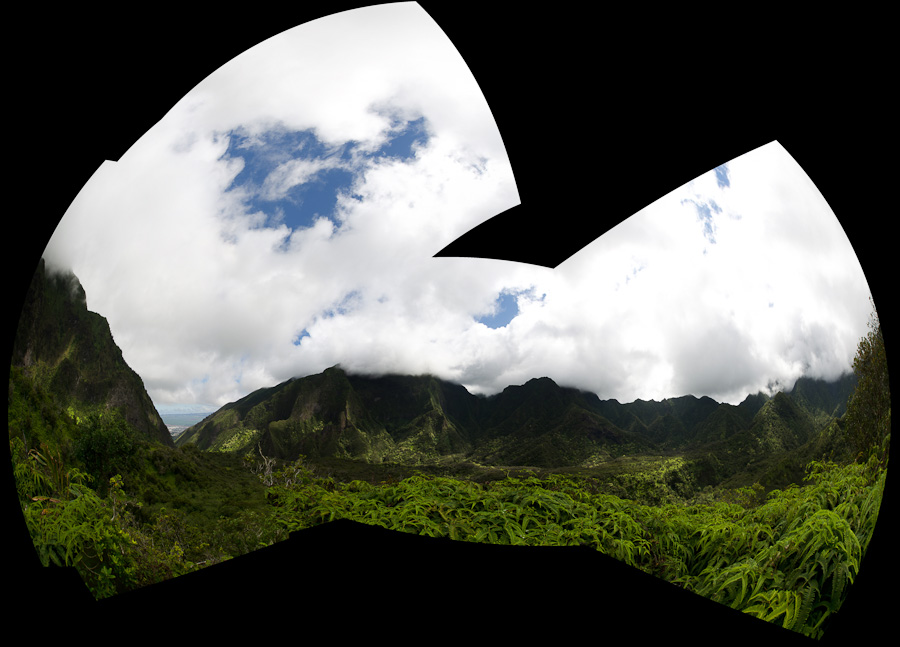panorama to south