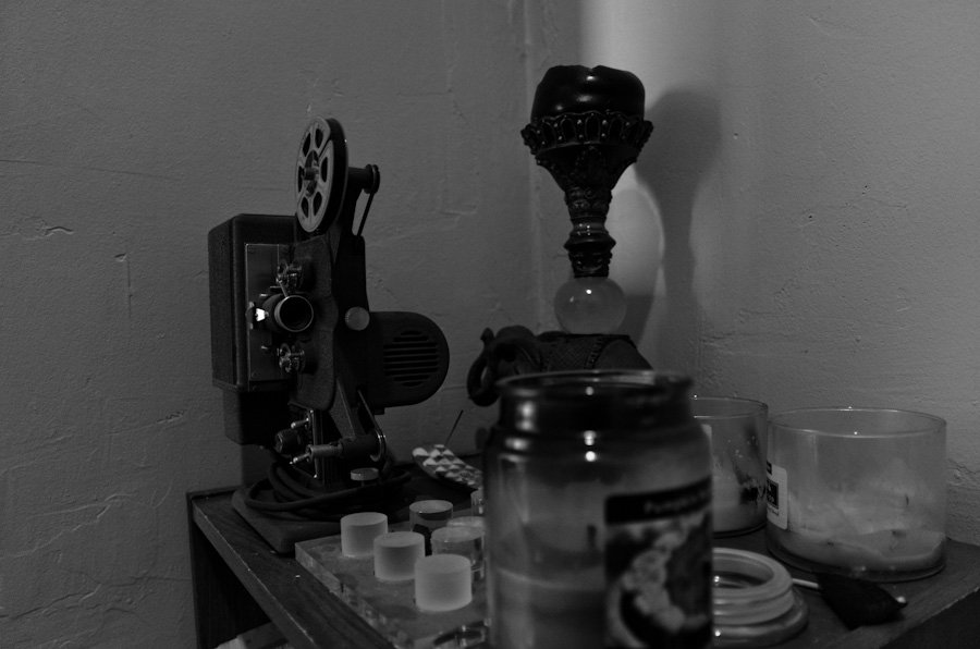 camera and glass etc