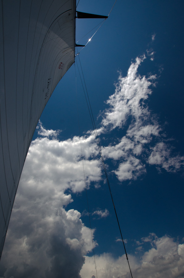 sail and clouds