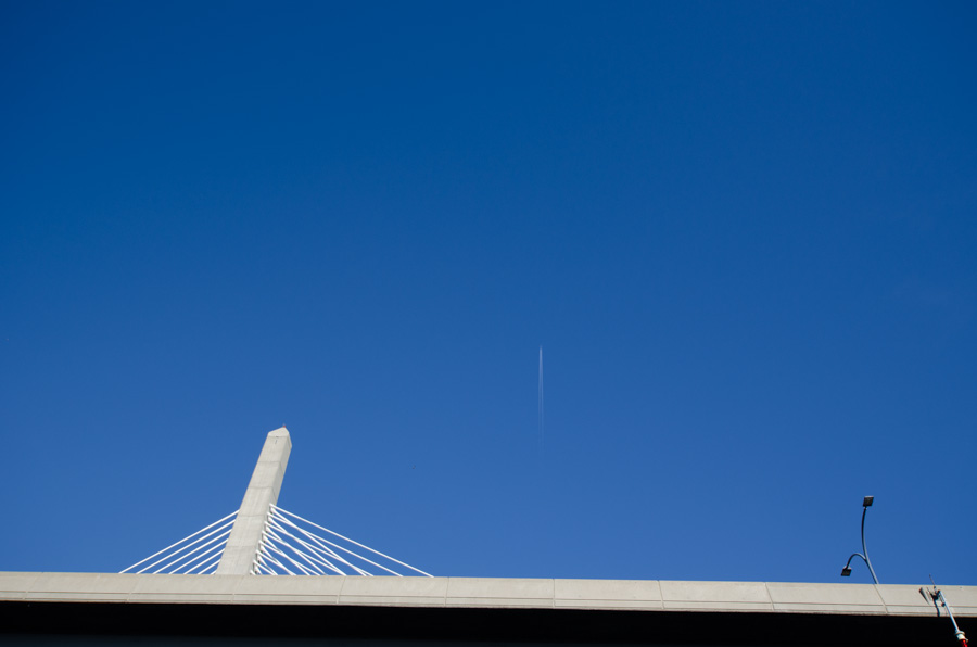 cables and contrail