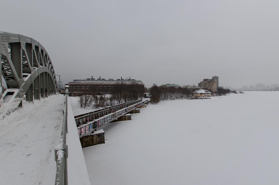 bridges and river