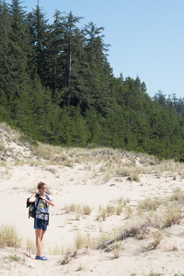 dune, trees, Kelsey