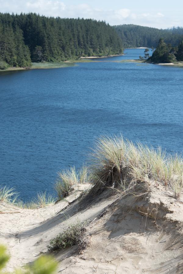 dune over lake